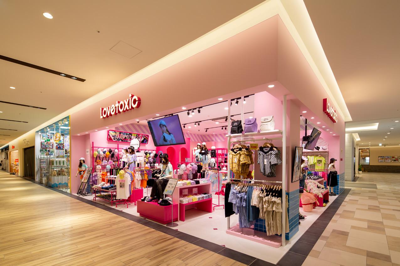 LOVETOXIC サンエー浦添西海岸PARCO CITY店